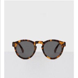 Illesteva Tortoise Shell Leonard Sunglasses